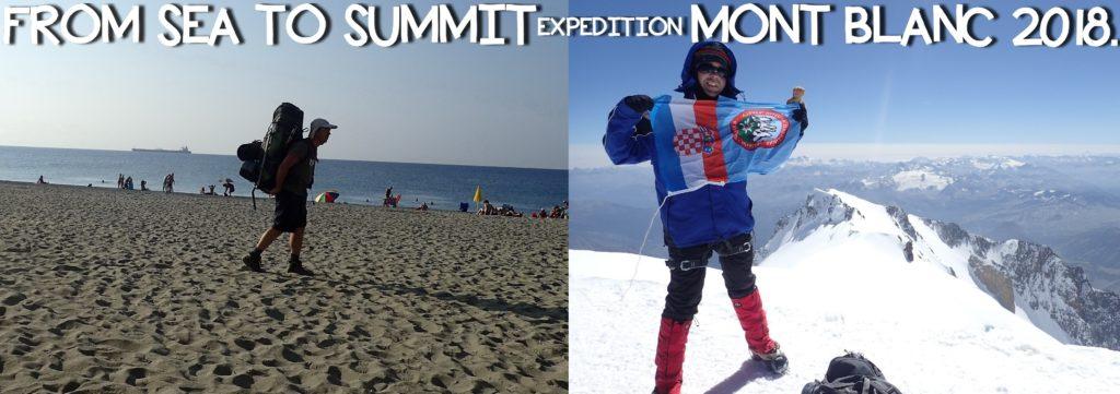 Sea to Summit – Mont Blanc