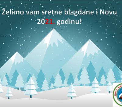 Dragi kolege vodiči, u Novoj godini želim Vam puno više planina, posla kao i zdravlja vama i vašim obiteljima!